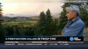 Arizona Firefighters Killed 2015 by Firefighters Killed By Wildfire Were In Car Accident Youtube