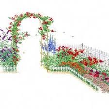 butterfly hummingbird garden plan