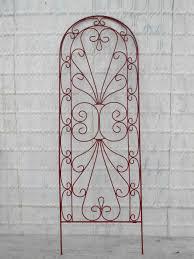 wrought iron heart garden flower trellis 36 gif loversiq