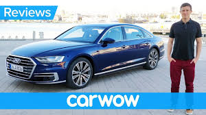 new audi a8 2018 review the most high tech car ever youtube