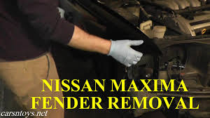 nissan altima 2013 rear bumper nissan maxima fender removal with basic hand tools youtube