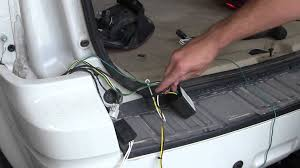 installation of a trailer wiring harness on a 2010 ford escape