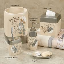 home bath bath accessories ashley floral bath accessories floral
