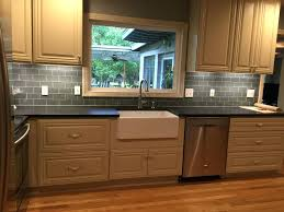 rooster tile backsplash glass ideas traditional kitchen black