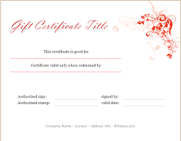printable christmas gift vouchers holiday gift certificate template floral design dotxes