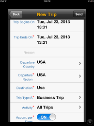 Mobile Expense Reporting by Sap Travel Expense Report Mobile App From Ipad