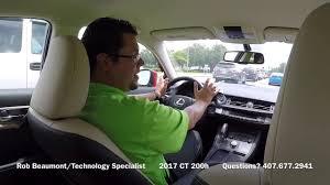 lexus lease in orlando lexus of orlando 2017 lexus ct 200h vehicle walk around youtube
