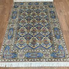 Silk Turkish Rugs Camel Carpet Handmade 4x6 Blue Turkish Silk Rugs For Sale Http
