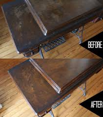 how to clean wood table with vinegar fix up old furniture and flea market finds using these natural home