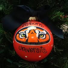 ornament auburn university tiger eyes auburn university