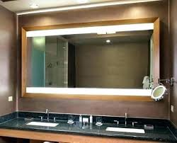 extra wide bathroom mirrors barn door bathroom mirror transitional