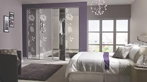 Contemporary Floral Sliding Wardrobe Doors Contemporary - Bedroom cupboard doors