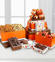 gourmet gift celebrate fall gourmet gift tower