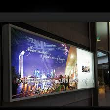 large led outdoor light box large outdoor advertising light box