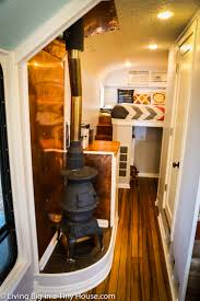 bus converted to incredible off grid home living big in a