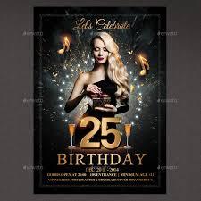 28 birthday party flyer psd templates free u0026 premium designyep