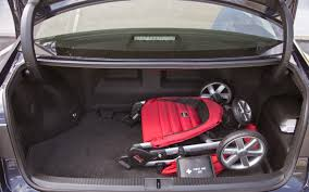 lexus es300h used car 2013 lexus es 300h trunk with stroller and first aid kit photo
