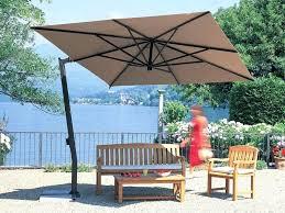 11 Patio Umbrella Patio Ideas 10 Foot Wide Rectangular Offset Patio Umbrella With