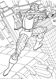 amazing spider man coloring pages spiderman color pages print