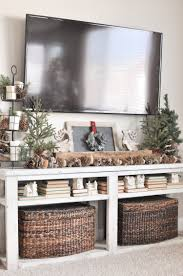 neutral christmas living room tour christmas living rooms