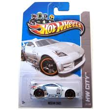 nissan hotwheels amazon com wheels 2013 hw city nissan 350z white toys u0026 games