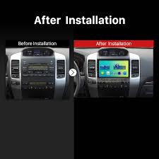 6 0 2008 toyota prado radio gps navigation system with bluetooth