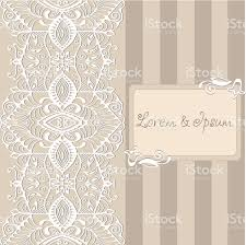 Wedding Card Design Background Abstract Background Lacy Frame Border Pattern Wedding Invitation