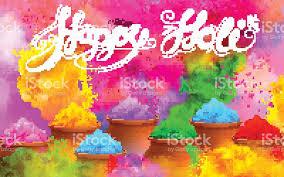 Color For Happy Happy Holi Background Stock Vector Art 514923966 Istock