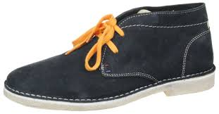 churlish mens navy lace up chelsea ankle boots mens suede desert