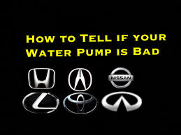lexus is vs acura how to tell if your car water pump is bad honda acura toyota