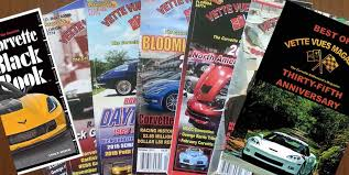 corvette magazine subscription vues magazine corvette chevy expo