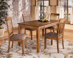 casual dining sets my furniture place ashley rustic dinette table set