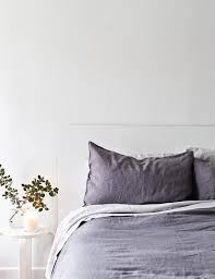 Grey Linen Bedding - trend to watch linen bedding