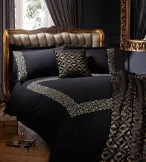 50 off biba serena king duvet cover black shopcade style