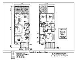 townhouse plans terrific 34 town house plans brownstones
