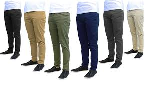 74 off on galaxy by harvic men u0027s chinos groupon goods