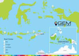 Bali Indonesia Map Bali South Sea Pearl Gem Adventurer