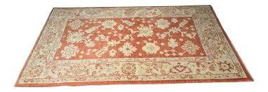 Orange And Brown Area Rugs Bellwether Rugs Burnt Orange Turkish Oushak Area Rug 4 U00273