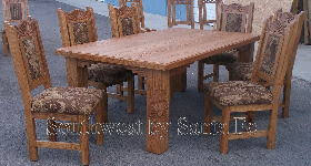 mexican dining table set southwestern kitchen dining tables southwest by santa fe