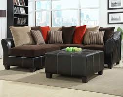 Sectional Leather Sofas For Small Spaces Small Sectional Leather Sofa Facil Furniture