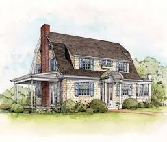Dutch Colonial Style Early 20th Century Suburban House Styles Old House Restoration