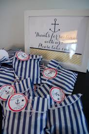 Nautical Themed Giveaways - rivernorthlove nautical navy u0026 yellow baby shower ideas for bwp