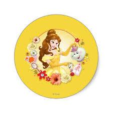 disney princess belle stickers zazzle