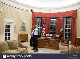 cozy the oval office is round president obama has left secrets of