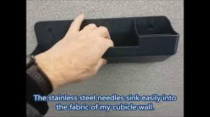 officemate verticalmate cubicle wall organizer youtube