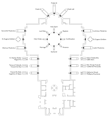 church of light floor plan st eugene catholic church u2013 william frank