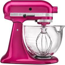 Kitchenaid Mixers On Sale kitchenaid artisan designer 5 qt raspberry ice stand mixer