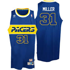 jersey design indiana pacers indiana pacers swingman blue reggie miller rookie throwback jersey