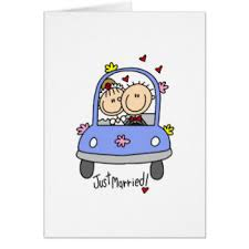 just married cards just married greeting cards zazzle