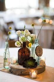 another view of center pieces best 25 wood slab centerpiece ideas on rustic